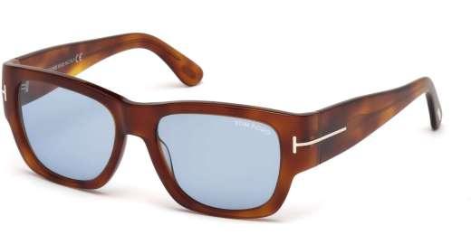 Blonde Havana / Blue lenses