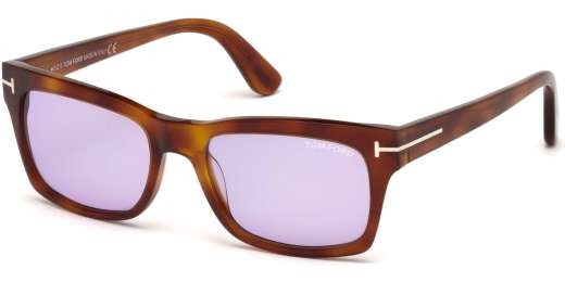 Blonde Havana / Violet lenses