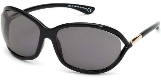 Shiny Black / Smoke Polarized lenses