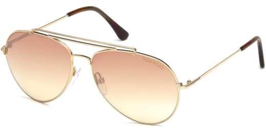 Shiny Rose Gold / Violet Mirror lenses