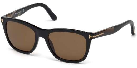 Shiny Black / Brown Polarized lenses