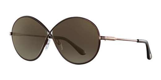 Shiny Dark Brown / Brown Mirror lenses