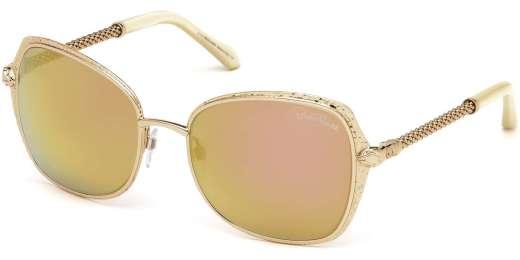 Shiny Rose Gold / Roviex Mirror lenses