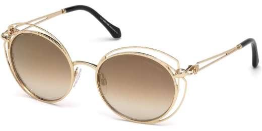 Shiny Rose Gold / Brown Mirror lenses