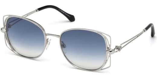 Shiny Palladium / Blue Mirror lenses