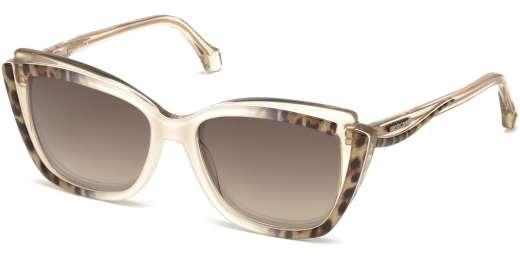 Ivory / Brown Mirror lenses