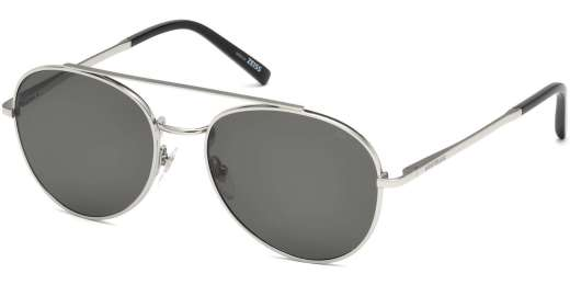 Shiny Palladium / Smoke Polarized lenses