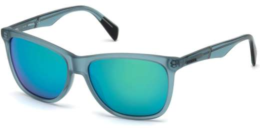 Shiny Turquoise / Green Mirror lenses