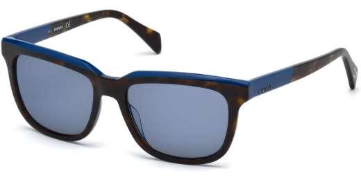 Havana/Other / Blue Mirror lenses
