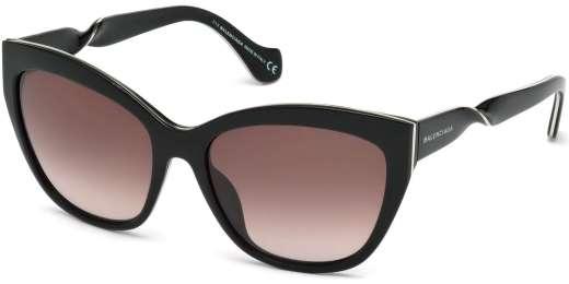 Shiny Black / Violet Mirror lenses