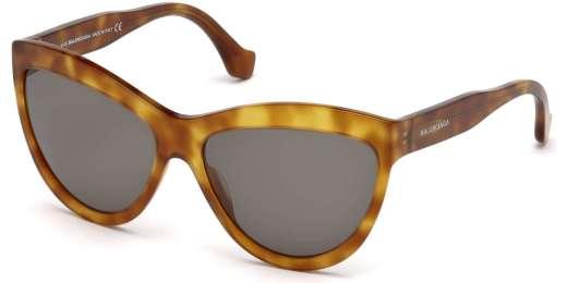 Blond Havana / Green lenses