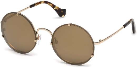 Gold/Other / Brown Mirror lenses