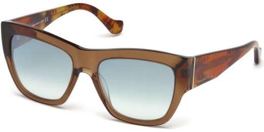 Shiny Dark Brown / Smoke Mirror lenses