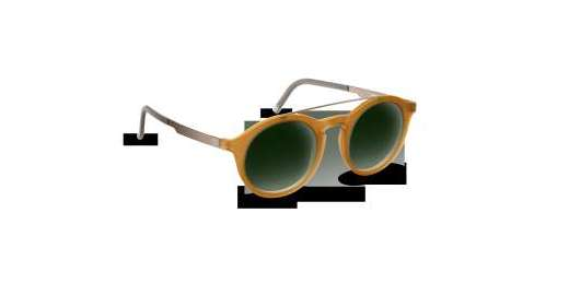 Sweet Honey Matte/Graphite / Green Gradient lenses