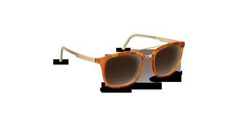 Melange Tortoise Matte/Gold / Brown Gradient lenses