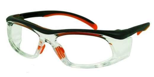 Orange/Black/Clear