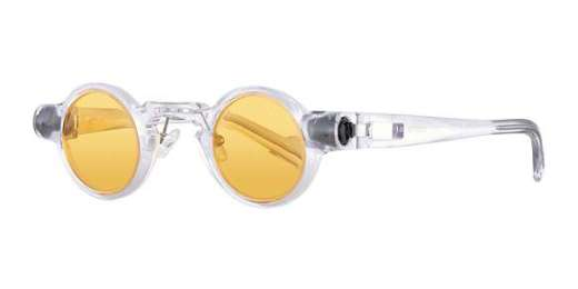 Crystal frame with orange tinted lens / Orange tinted lens (CL)