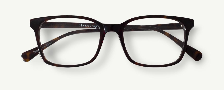 15acb86f1c8 Hoffman in Matte Black - Classic Specs