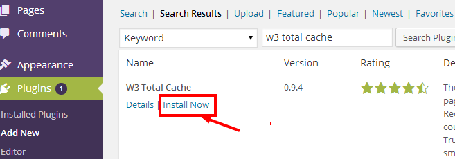 install plugin in wordpress