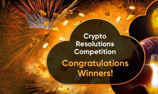 Best 2019 crypto resolutions & Ledger Blue raffle winner