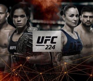 UFC 224 bitcoin betting