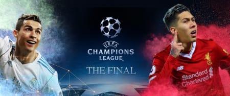 Champions League Final bitcoin betting