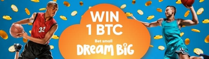 1 BTC Giveaway - Win 1 BTC with just a 0.0001 BTC stake!