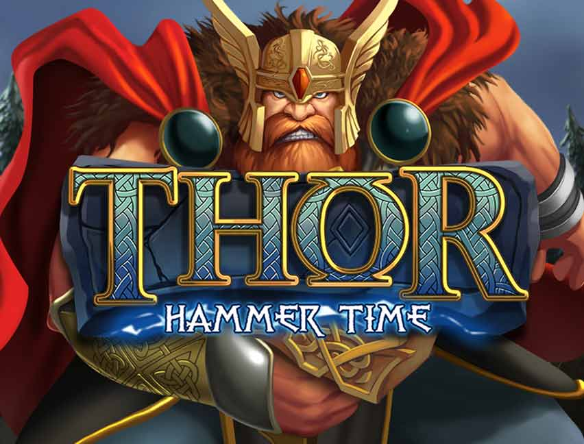 Play Thor Hammer Time in our Bitcoin Casino