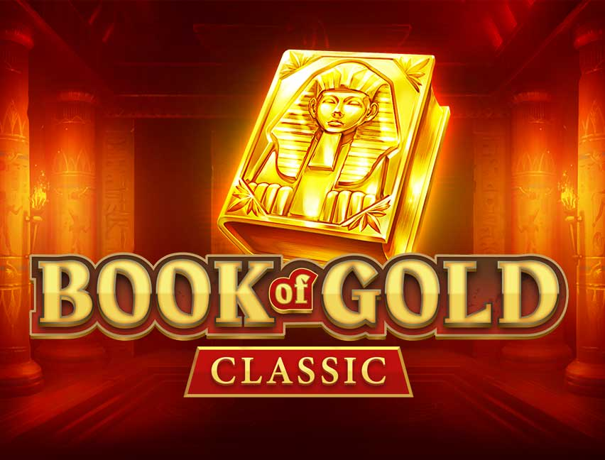 Play Book of Gold: Classic in our Bitcoin Casino