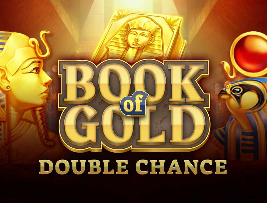 Play Book of Gold: Double Chance in our Bitcoin Casino