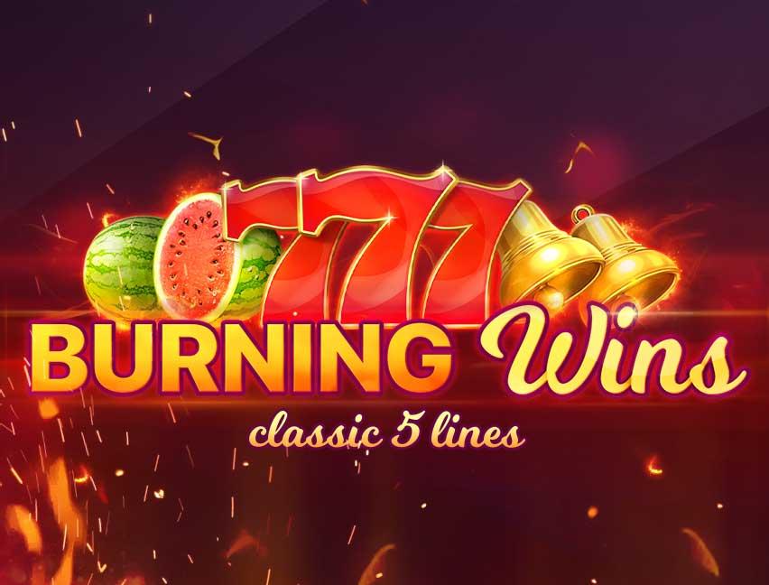 Bitcoin Casinomuzda Burning Wins adlı oyunu oynayın