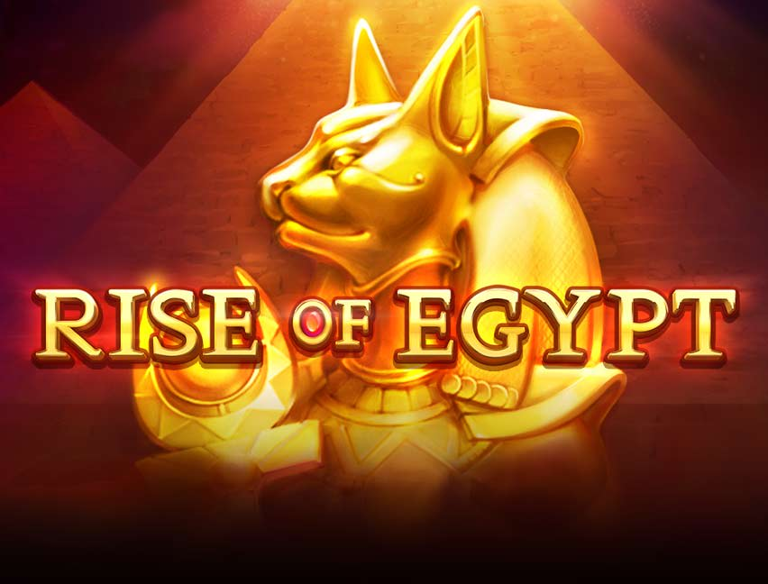 Play Rise of Egypt in our Bitcoin Casino