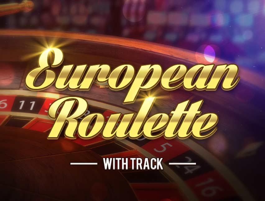 Mainkan European Roulette With Track di Kasino Bitcoin kami