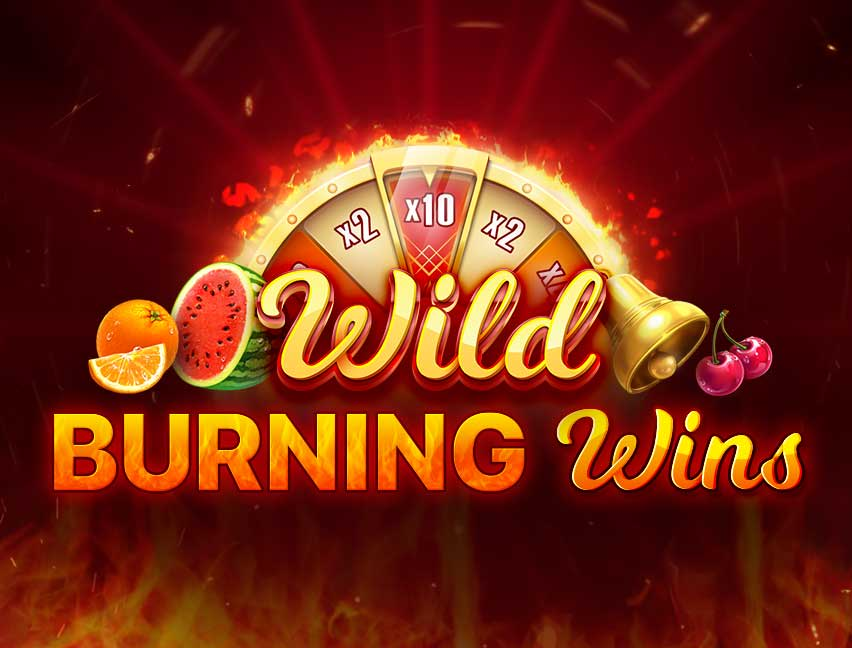 Play Wild Burning Wins 5 Lines in our Bitcoin Casino