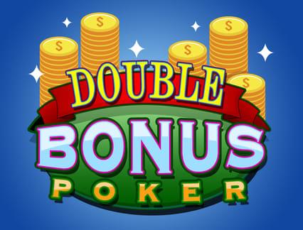 Bitcoin Casinomuzda Double Bonus Poker adlı oyunu oynayın