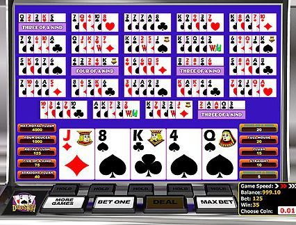 Play Multi-hand Deuces Wild Poker in our Bitcoin Casino