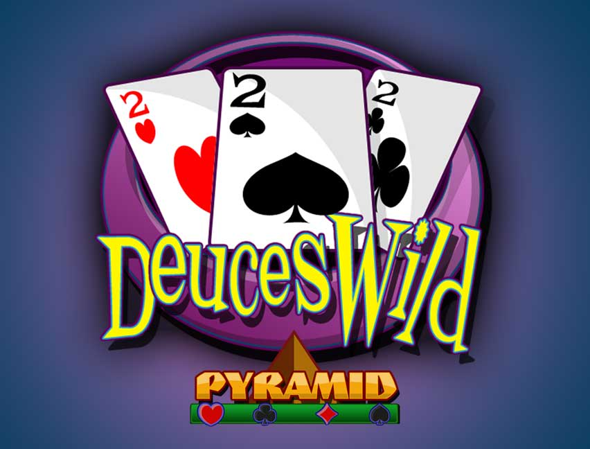 Play Pyramid Deuces Wild Poker in our Bitcoin Casino