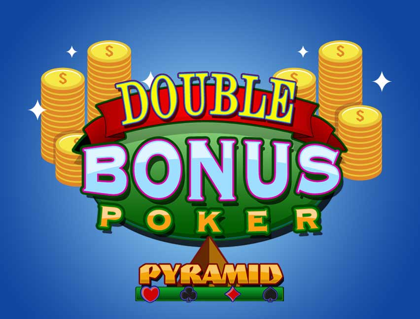Bitcoin Casinomuzda Pyramid Double Bonus Poker adlı oyunu oynayın