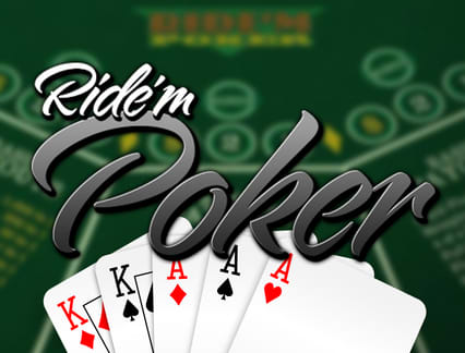 Play Ride'm Poker in our Bitcoin Casino