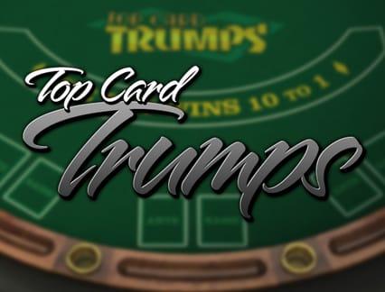 Bitcoin Casinomuzda Top Card Trumps adlı oyunu oynayın