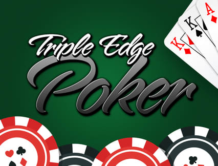Play Triple Edge Poker in our Bitcoin Casino
