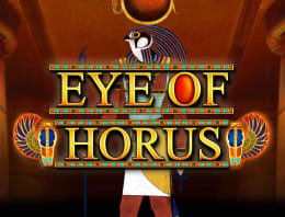 Play Eye Of Horus in our Bitcoin Casino