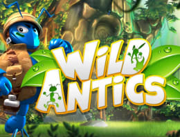 Play Wild Antics in our Bitcoin Casino