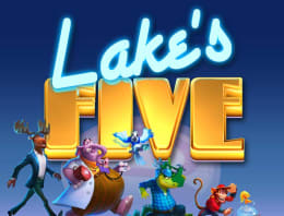 Play Lake's Five in our Bitcoin Casino
