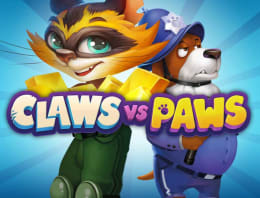 Mainkan Claws vs Paws di Kasino Bitcoin kami
