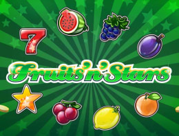 Play Fruits'n'Stars in our Bitcoin Casino