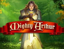 Play Mighty Arthur in our Bitcoin Casino