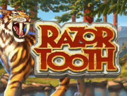 Play Razortooth in our Bitcoin Casino