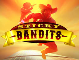 Play Sticky Bandits in our Bitcoin Casino