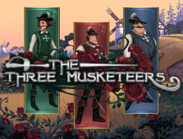Play Three Musketeers in our Bitcoin Casino
